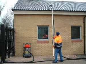 gutter cleaning oliver window cleaner